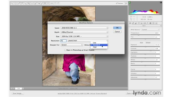 Saving from Camera Raw: Photoshop CC for Photographers: Camera Raw 8 Fundamentals