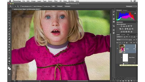 Opening an image as a Smart Object: Photoshop CC for Photographers: Camera Raw 8 Fundamentals