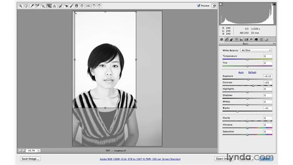 The art of cropping: Photoshop CC for Photographers: Camera Raw 8 Fundamentals