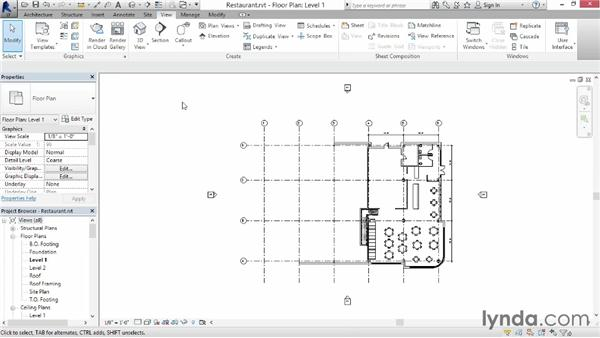 Introducing the interface: Up and Running with Revit