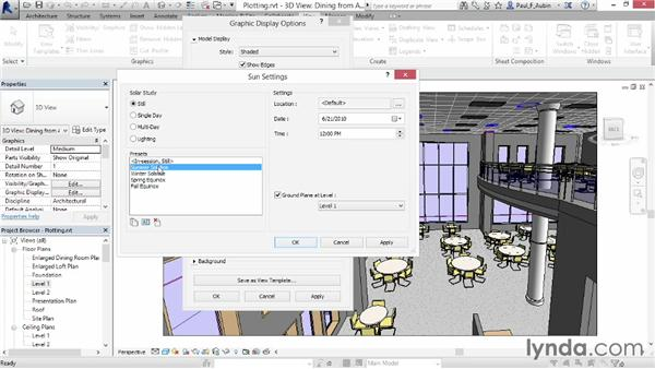 Generating a cloud rendering: Up and Running with Revit