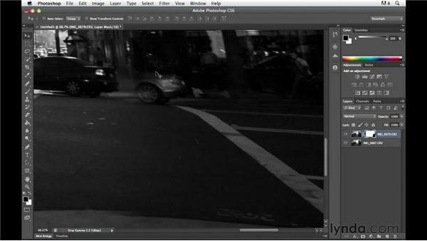 Compositing street photography images with Photoshop: The Practicing Photographer