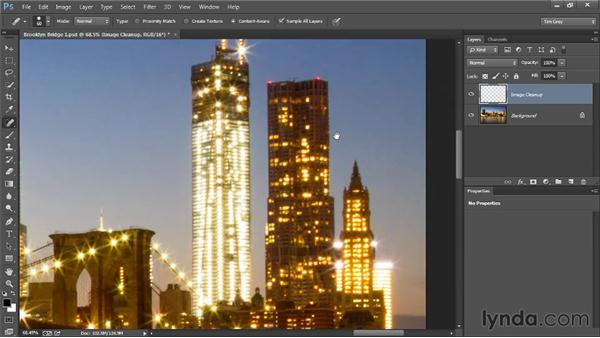 Spot removal: Photoshop Artist in Action: Tim Grey's Photo Optimization Techniques