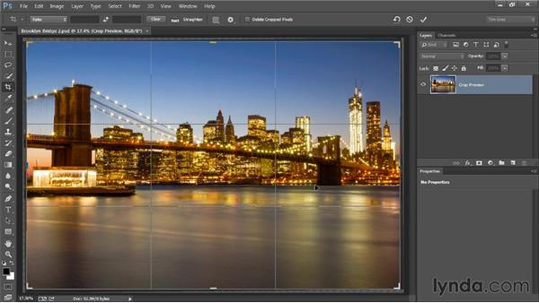 Cropping and straightening: Photoshop Artist in Action: Tim Grey's Photo Optimization Techniques