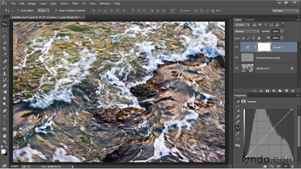 Enhancing with adjustments: Photoshop Artist in Action: Tim Grey's Photo Optimization Techniques