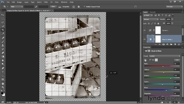 Rethinking the crop: Photoshop Artist in Action: Tim Grey's Photo Optimization Techniques