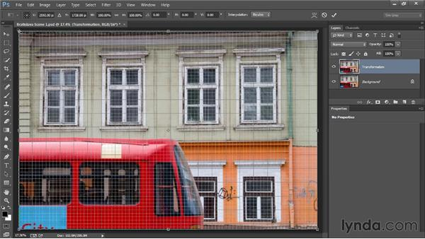 Correcting perspective with Transform: Photoshop Artist in Action: Tim Grey's Photo Optimization Techniques