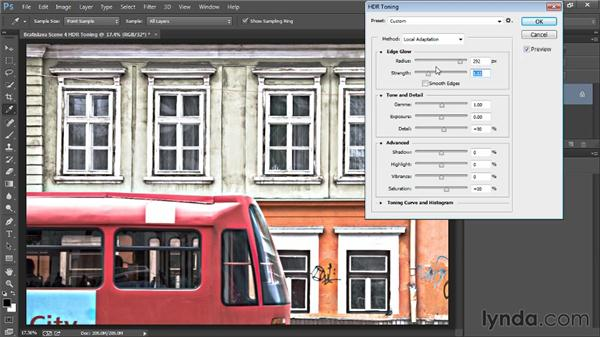 Applying HDR tone mapping: Photoshop Artist in Action: Tim Grey's Photo Optimization Techniques