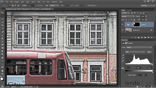Adding a custom vignette: Photoshop Artist in Action: Tim Grey's Photo Optimization Techniques