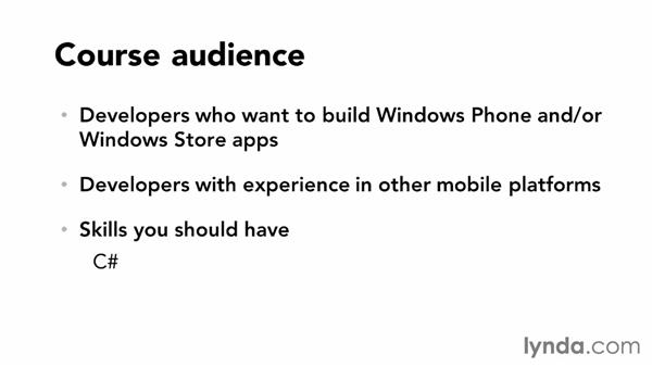 Prerequisites and related courses: Building a Note-Taking App for Windows Phone 8 and Windows Store