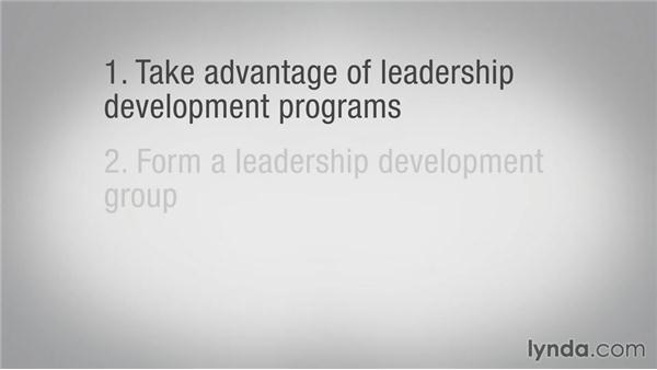 Next steps: Leadership Fundamentals