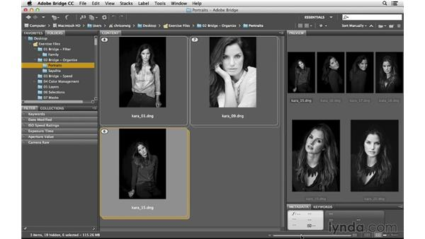 Stacking images into groups: Photoshop CC for Photographers: Intermediate