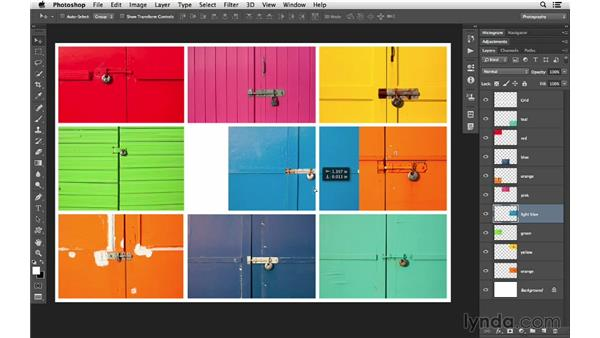 Selecting layers with more speed: Photoshop CC for Photographers: Intermediate