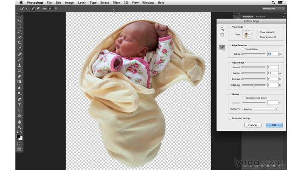 Working with the Quick Selection tool: Photoshop CC for Photographers: Intermediate