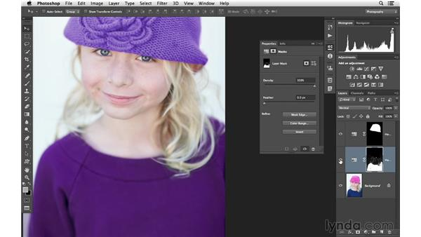 Using Color Range to build a mask: Photoshop CC for Photographers: Intermediate