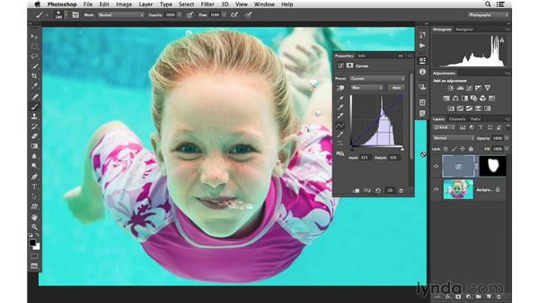 Working with Quick Select: Photoshop CC for Photographers: Intermediate