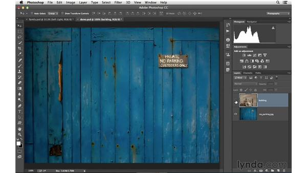 Using the Soft Light blending mode to increase visual impact: Photoshop CC for Photographers: Intermediate