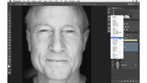 Stacking blending modes together: Photoshop CC for Photographers: Intermediate