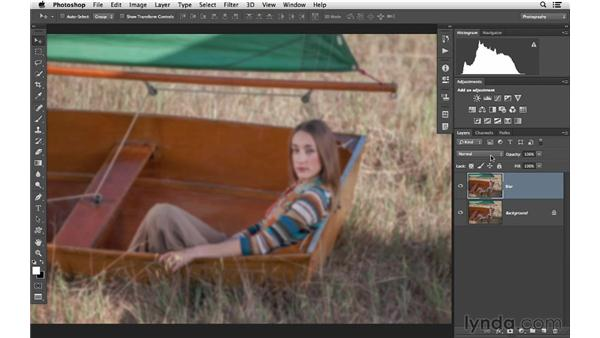 Create a saturated soft-glow effect: Photoshop CC for Photographers: Intermediate