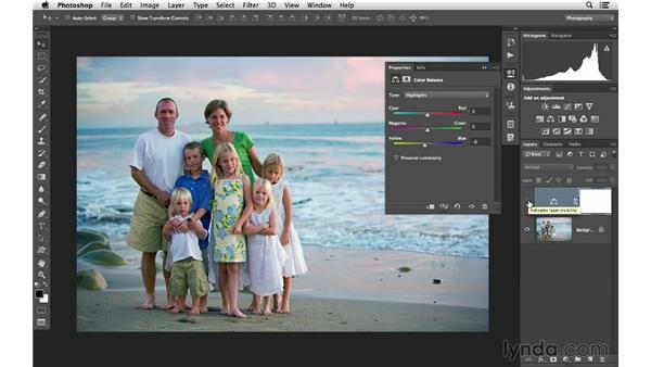 Using Color Balance to create vivid color: Photoshop CC for Photographers: Intermediate