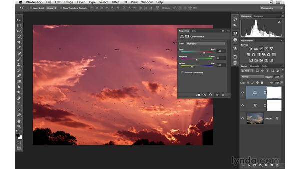 Combining Color Balance and Curves to create dramatic color: Photoshop CC for Photographers: Intermediate