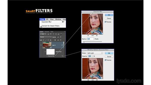 Introducing Smart Filters: Photoshop CC for Photographers: Intermediate