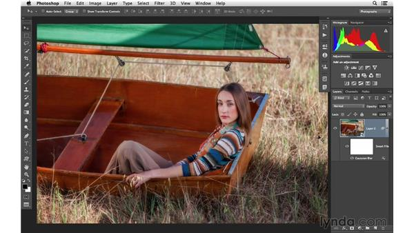 Applying Smart Filters: Photoshop CC for Photographers: Intermediate