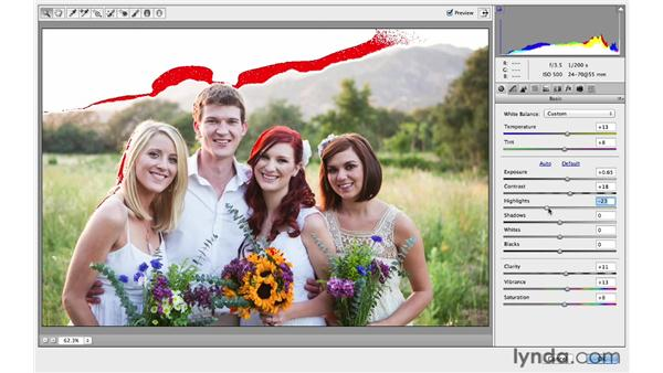 Correcting exposure and color with Camera Raw: Photoshop CC for Photographers: Intermediate