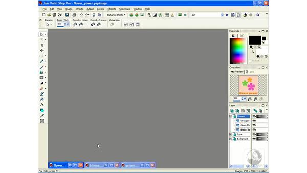 bitmap and vector information: Learning Jasc Paint Shop Power Suite Photo Edition