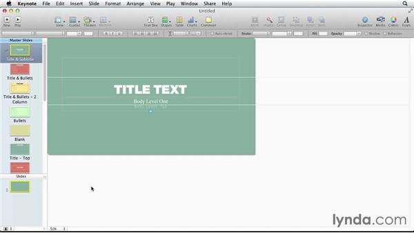Putting it all together: Designing a Presentation