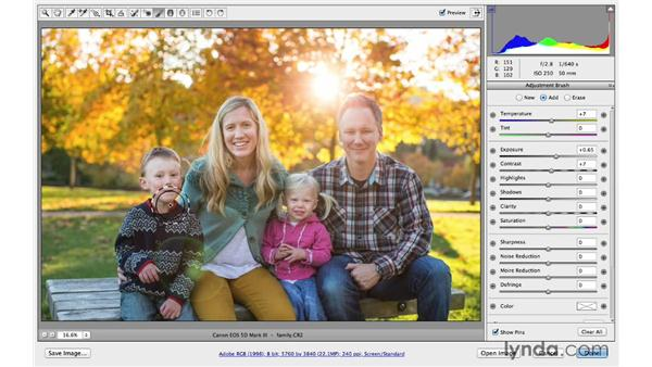 A workflow for improving exposure: Photoshop CC for Photographers: Camera Raw 8 Intermediate