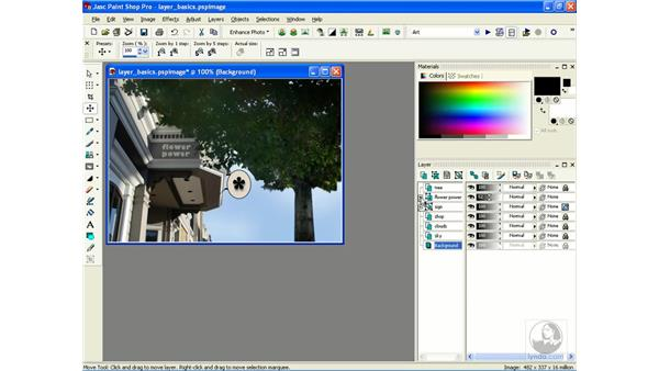 understanding layers: Learning Jasc Paint Shop Power Suite Photo Edition