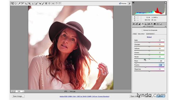 Combining numerous adjustments to generate creative results: Photoshop CC for Photographers: Camera Raw 8 Intermediate