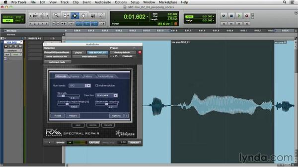 Prepping vocal takes for mixing: Music Production Secrets: Larry Crane on Mixing