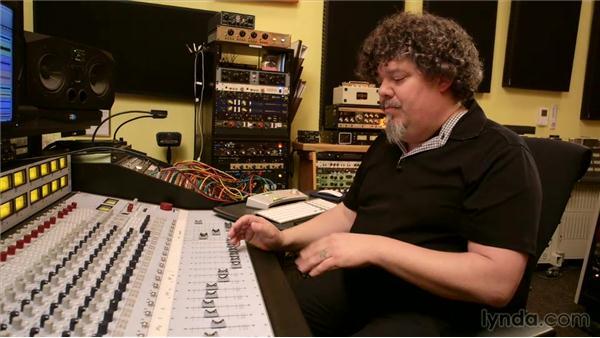 Parallel drum buss compression: Music Production Secrets: Larry Crane on Mixing