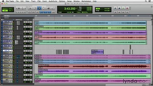 Drum mixing: Music Production Secrets: Larry Crane on Mixing