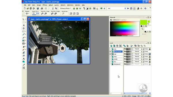 moving and arranging: Learning Jasc Paint Shop Power Suite Photo Edition