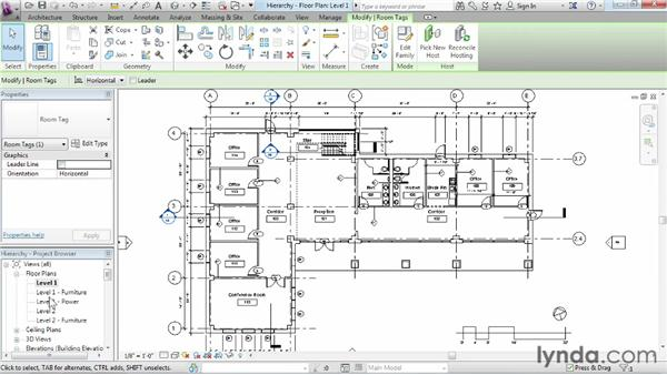 Understanding Revit element hierarchy: Revit Architecture 2014 Essential Training