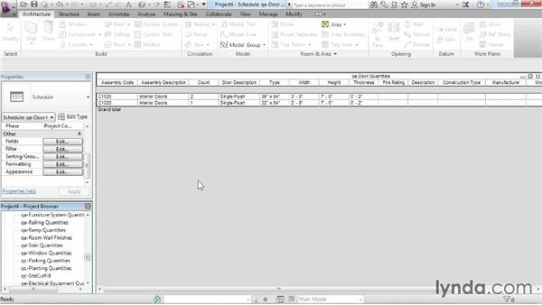 Creating a new project from a template: Revit Architecture 2014 Essential Training