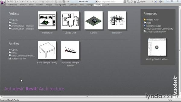Accessing multiuser worksharing projects: Revit Architecture 2014 Essential Training
