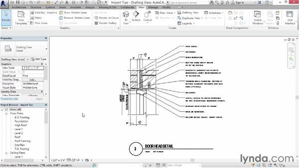 Import tips: Revit Architecture 2014 Essential Training