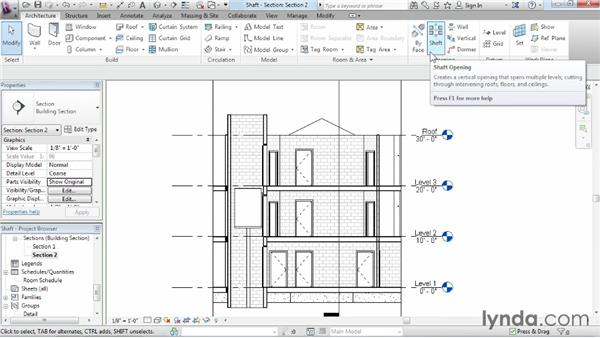 Adding openings: Revit Architecture 2014 Essential Training