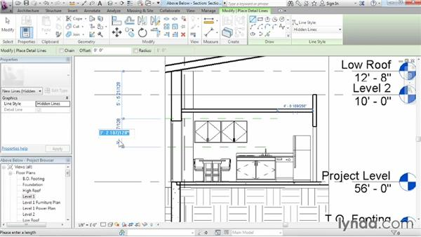 Displaying objects above and below in plan views: Revit Architecture 2014 Essential Training