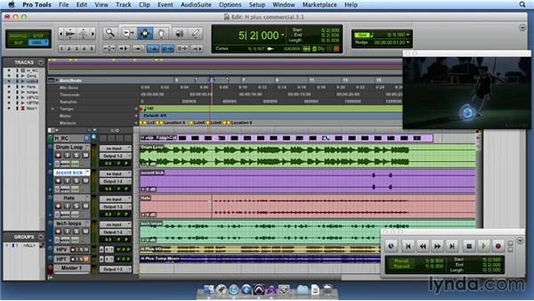 Constructing the rhythm section: Producing Music for Advertisements
