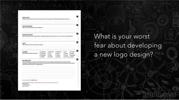 Profiling clients via customer creative briefs: Foundations of Logo Design