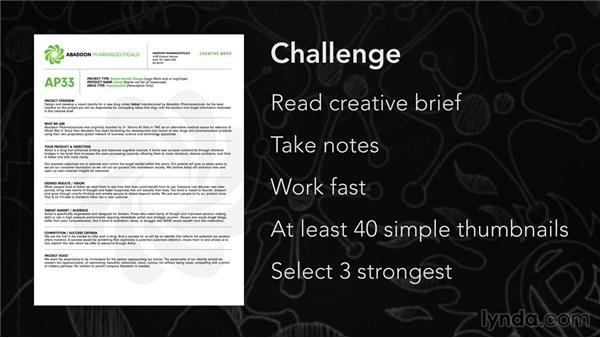 Challenge scenario: Create a logo for : Foundations of Logo Design