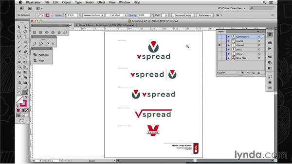 Crafting a visual identity: Color: Foundations of Logo Design