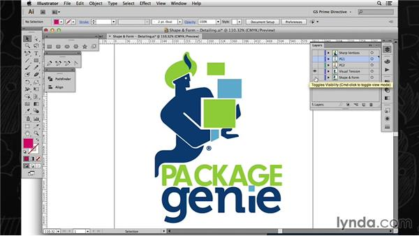 Crafting a visual identity: Shape, form, and details: Foundations of Logo Design