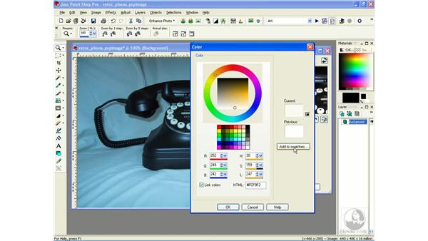 setting black and white points: Learning Jasc Paint Shop Power Suite Photo Edition