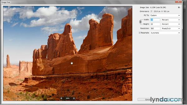 Downsampling for email: Photoshop CC 2013 One-on-One: Fundamentals